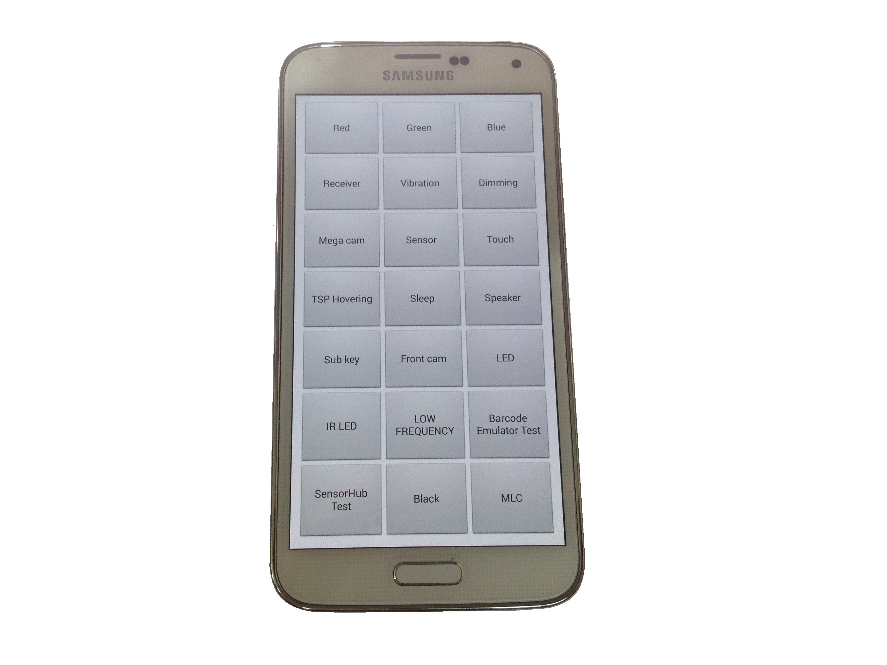Samsung Galaxy S5 Repair Ifixit Lcd Touchscreen White Oem Secret Codes Service Test Menu