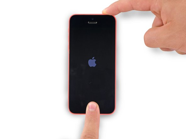 How to Force Restart an iPhone 5c
