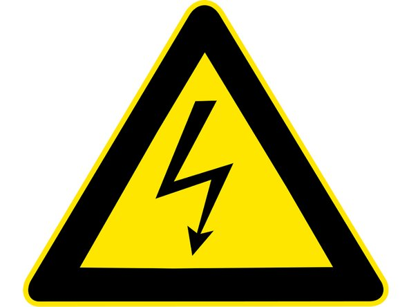 DANGER! Improper handling of live electrical circuits can cause electrocution, fire, and/or death!  Do not attempt to duplicate these repairs yourself unless you understand how to safely perform electronic repairs in general.  If you do, be sure you take proper safety precautions.