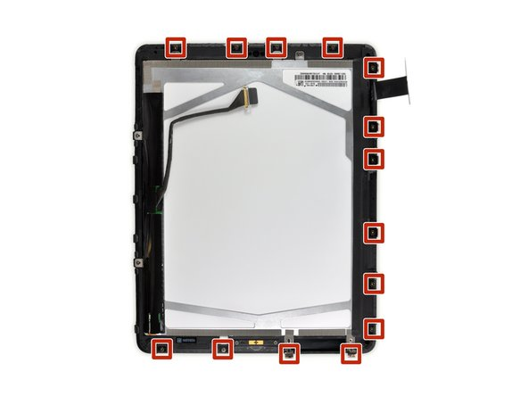 In this guide you will be prying the iPad's display assembly away from the aluminum body. Read ahead and follow the directions closely to avoid damaging the display assembly or the fragile clips holding it in place.
