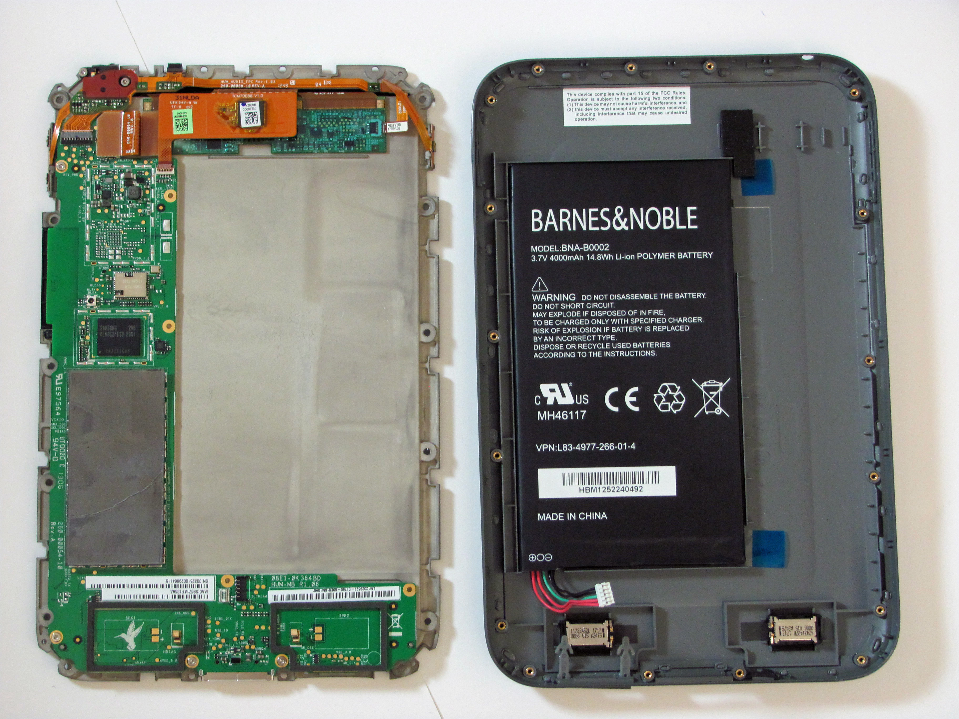 Nook Hd Battery Replacement Ifixit Repair Guide