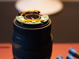 Disassembling Sigma 24-70mm F2.8 EX DG Macro Lens Zoom bearing