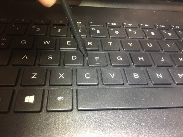 HP 15-ay103dx Key Replacement