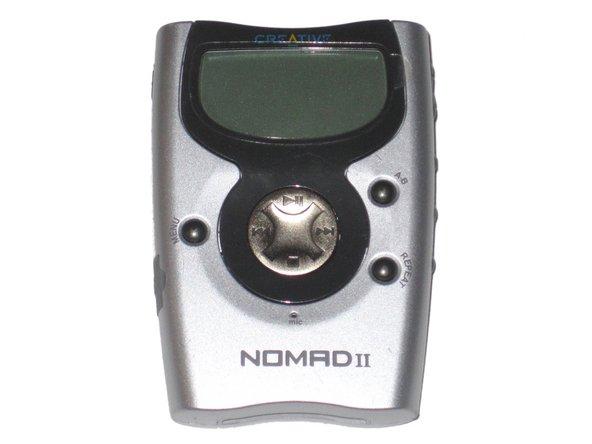 Creative nomad ii repair ifixit for Nomad service