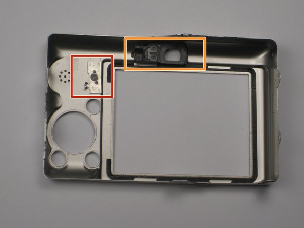 When you reassemble the camera, make sure the switch on the casing matches the position of the switch on the camera internals.