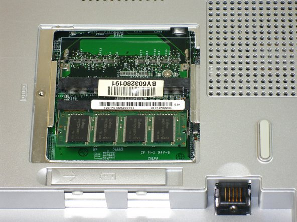 Slide memory module out