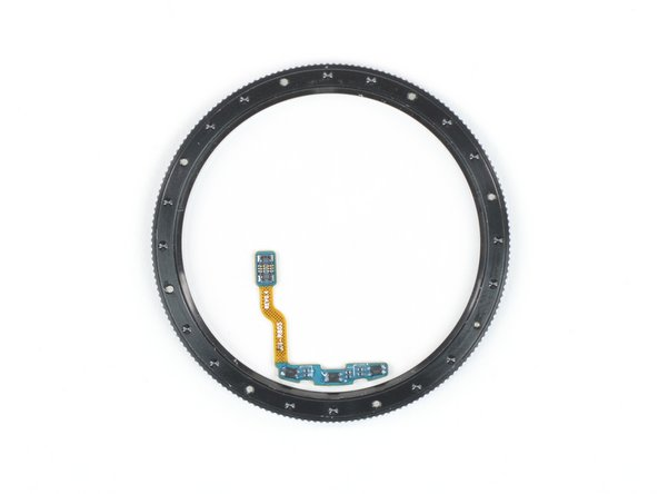 There are three hall sensors on the small PCB, at the same distance from each other as the grooves on the bezel.