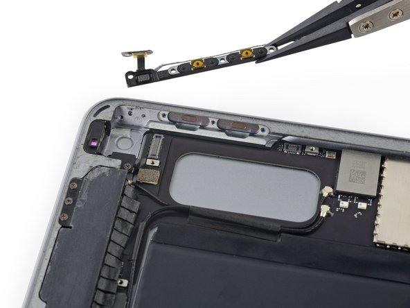 iPad Air 2 Wi-Fi Kabeleinheit der Lautstärkeregelung austauschen