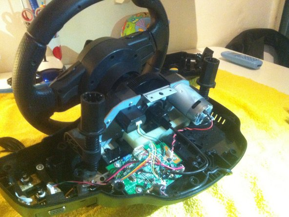 Logitech driving force gt ''play''or ''loose'' steering fix