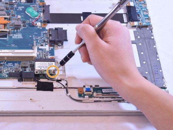 Remove single 3mm PH01 screw.