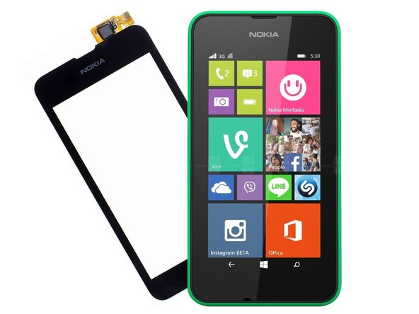 Nokia Lumia 530 Touch Screen LCD Display Replacement