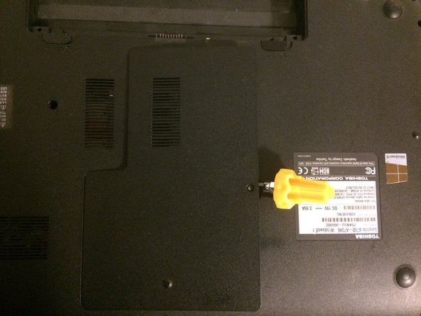 Image 2/2: Then get a screw driver or prier to gently pry the covering plate