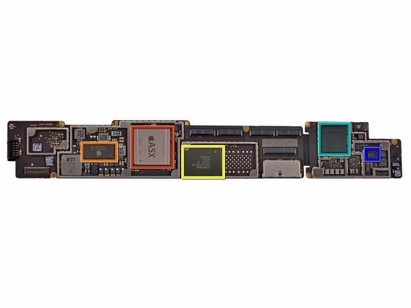 Image 1/1: Apple A5X processor