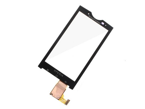Sony Ericsson Xperia X10 Touchscreen Glass Digitizer Replacement