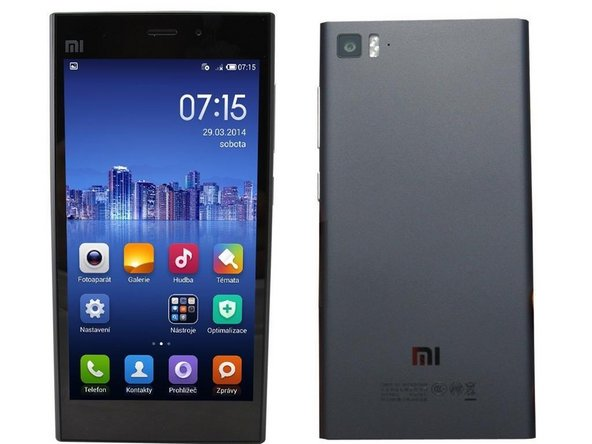 Xiaomi Mi 3 Touchscreen Replacement