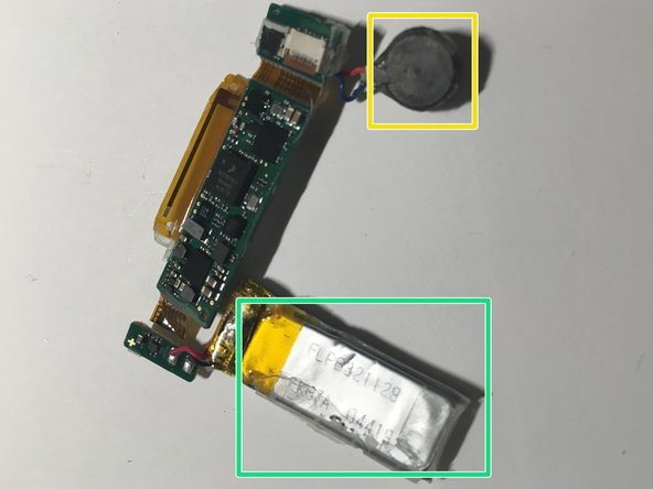 Notice the spring contacts coming from the 4 USB conductor pads - these come in contact with pads on the PCB.