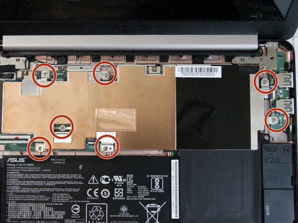 Asus Chromebook C201PA-DS02-LG Metal Plate Replacement