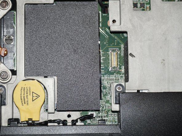 To remove the RAM module, follow the removal procedure from the bottom lower module.