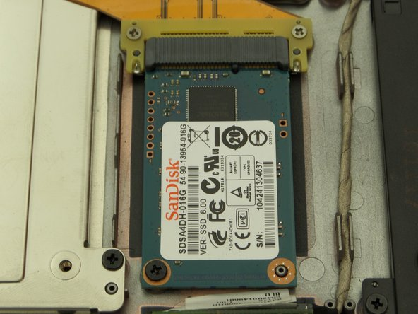 Cr-48 Chromebook SSD Replacement