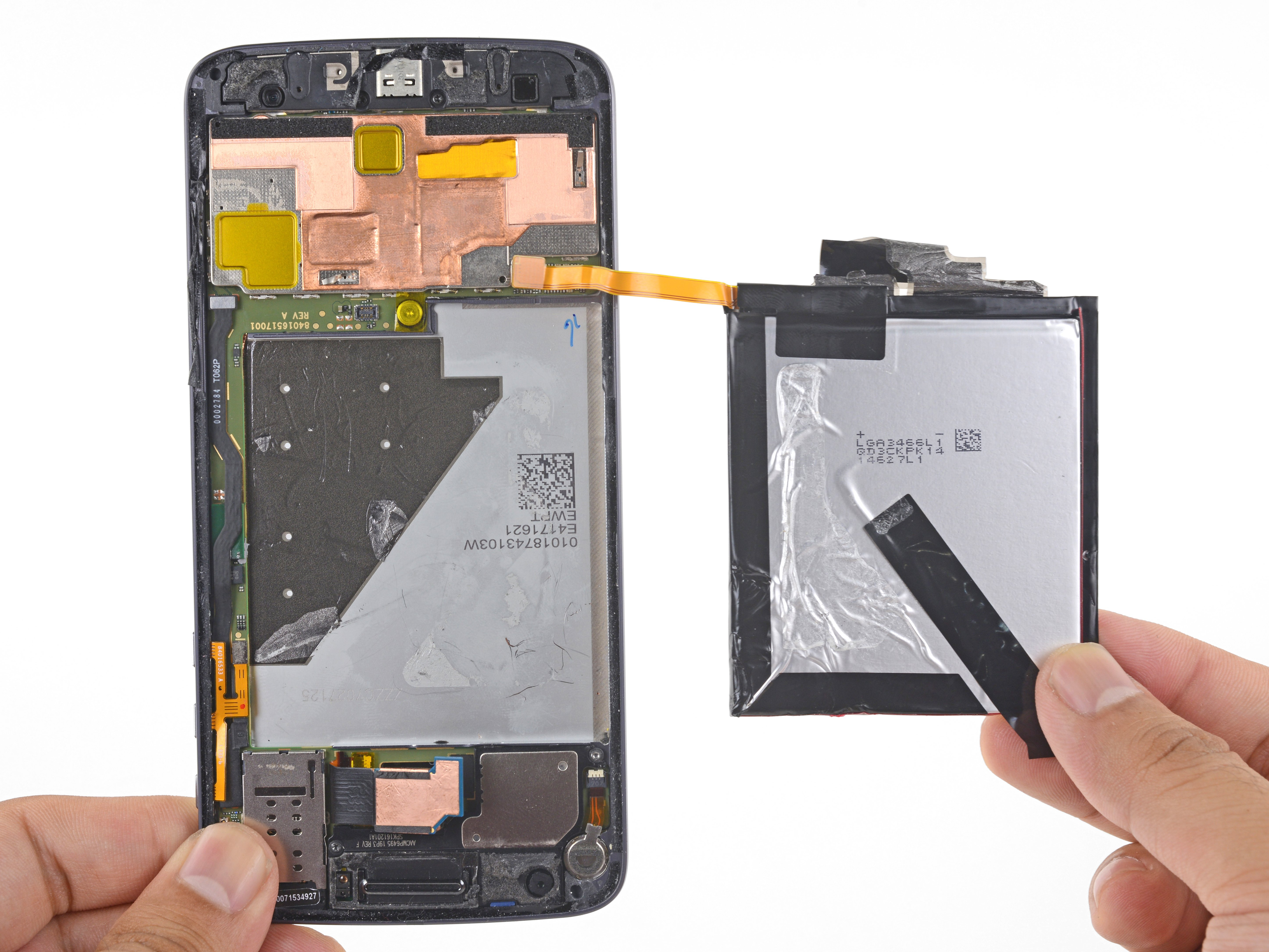 Moto Z Battery Replacement - iFixit Repair Guide