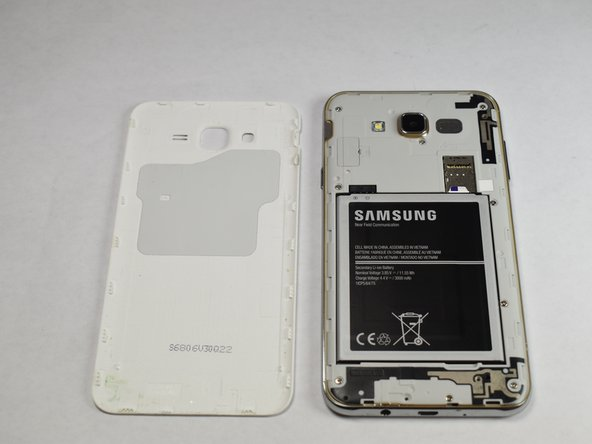 Samsung Galaxy J7 Back Cover Replacement