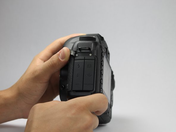 Canon EOS 5D Mark II Back Panel Replacement