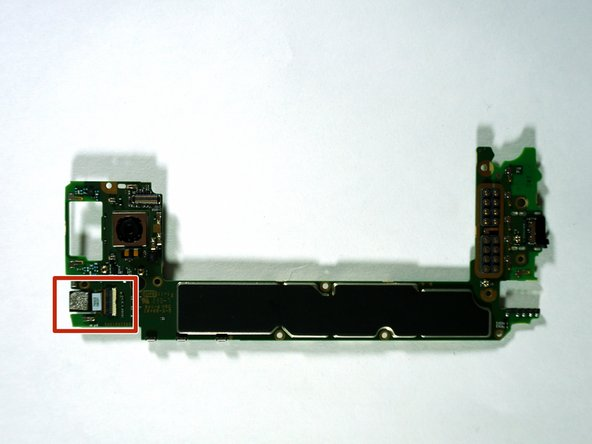Motorola Moto Z2 Play Front Facing Camera Replacement