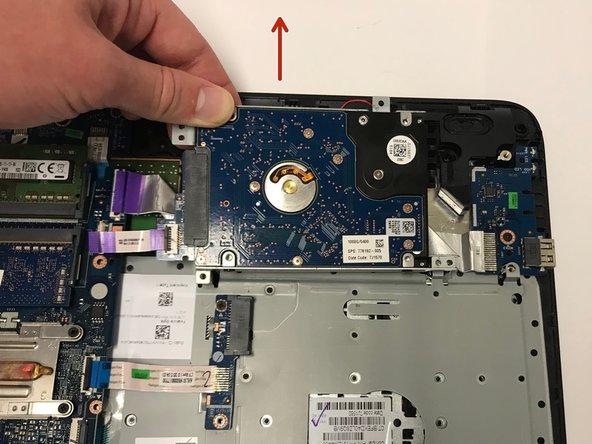 Remove the CPU.