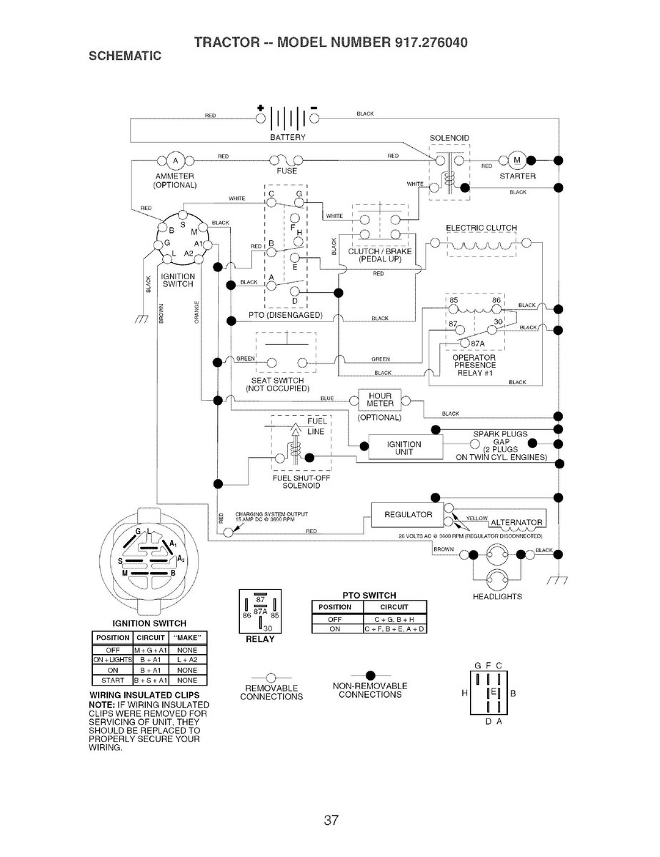 Craftsman Ys 4500 Wiring Diagram 32 Images Riding Lawn Mower Lt1000 Abkkphlmsn3octx2huge Solved Locating The Fuse Blades Wont Engage