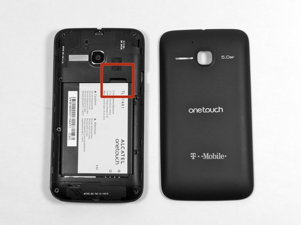 Alcatel OneTouch Evolve Battery Removal - iFixit Repair Guide