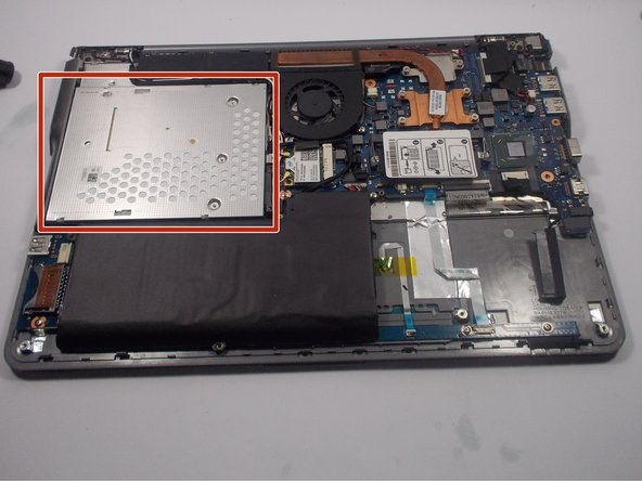 Samsung NP530U4BL CD Drive Replacement