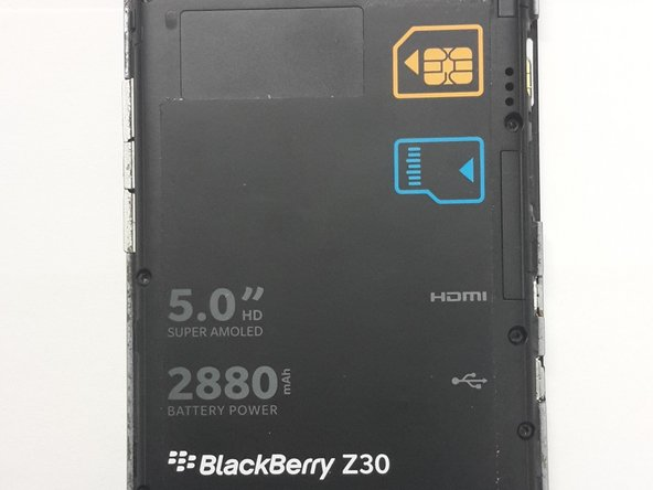 wholesale dealer fb38e 113f0 BlackBerry Z30 Battery Replacement - iFixit Repair Guide