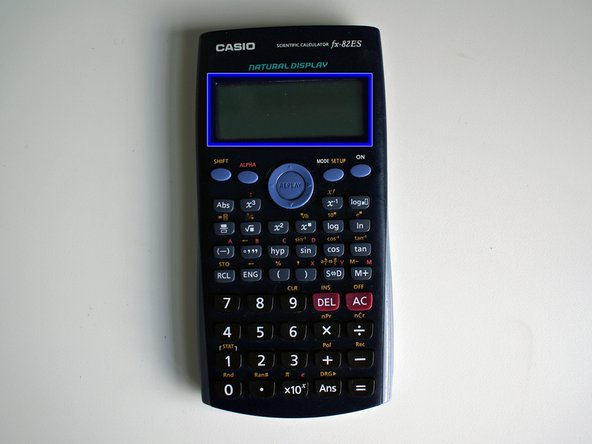 Casio fx-82ES Battery Replacement