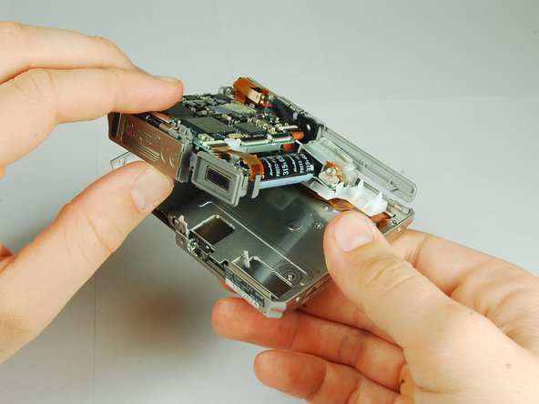 Sony Cyber-shot DSC-T1 Flash Module Replacement