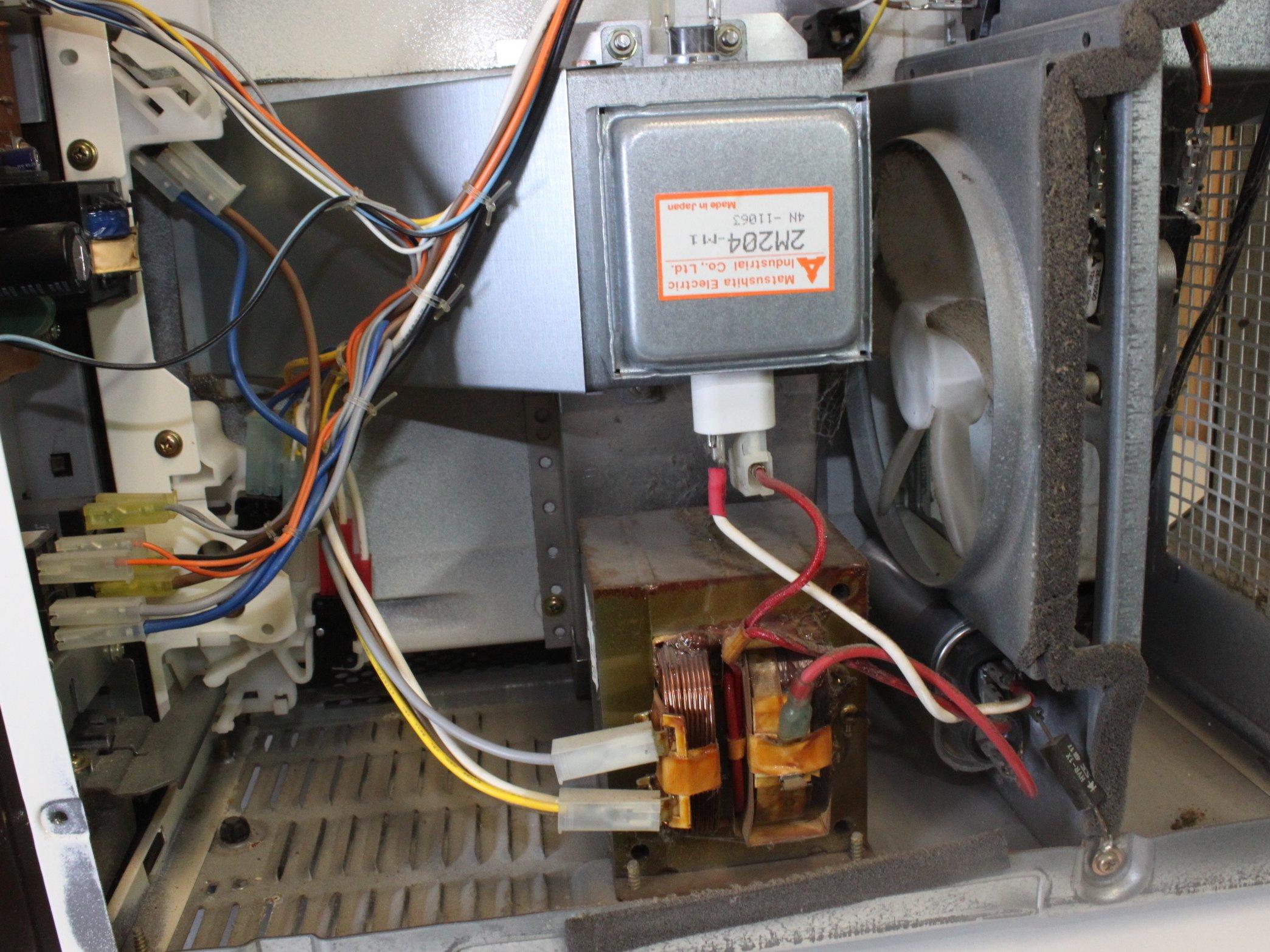 Repairing Quasar Microwave Sparking Inside Ifixit Repair