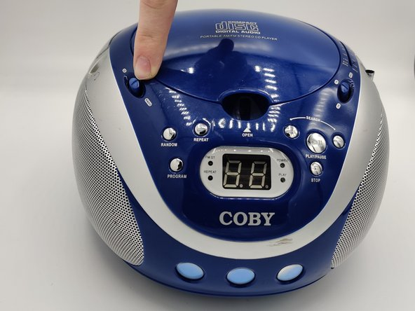 Portable Coby CD Player Drive Replacement