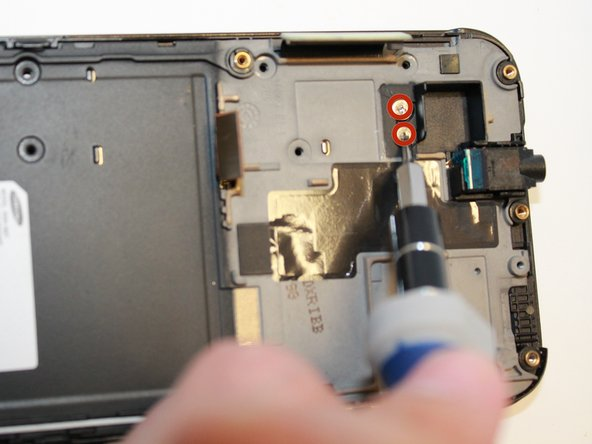 Remove screws using the #00 screwdriver.