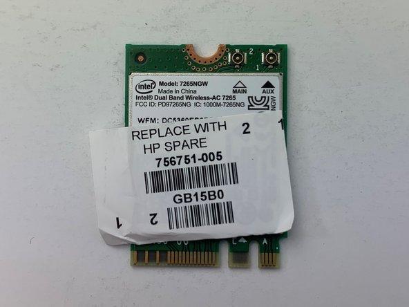 HP Envy x360 m6-w105dx Wi-Fi Card Replacement
