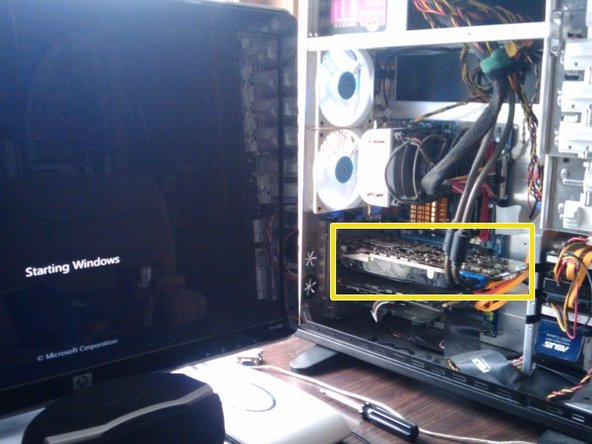 Temporarily Repair a Lost Cause Graphics Card by Heating it up in an