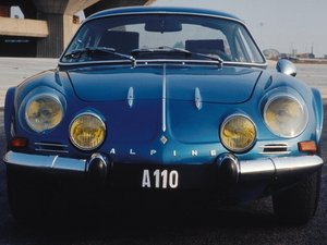 Renault Alpine A110 Repair
