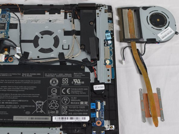 Based on the quality of the fan either  the clean fan or replace the fan.