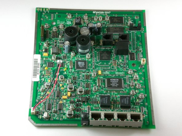 Inter-tel IP 8660 Motherboard Replacement