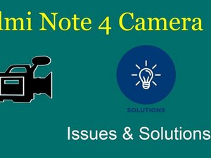 How to solve Xiaomi Redmi Note 4X camera issues