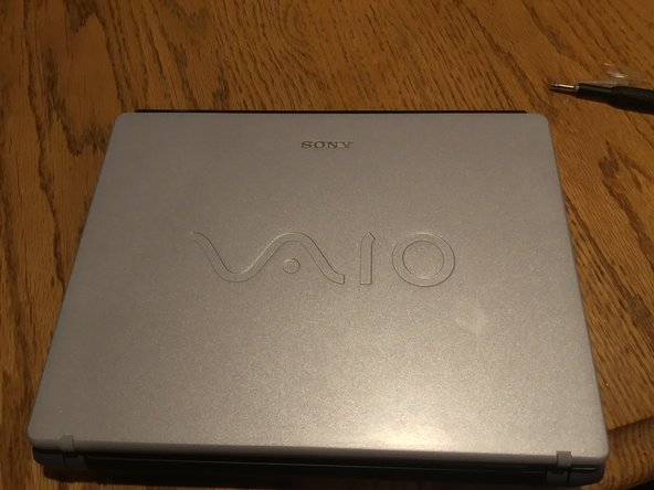 Sony VAIO Notebook Computer PCG-432L Hard Drive Replacement