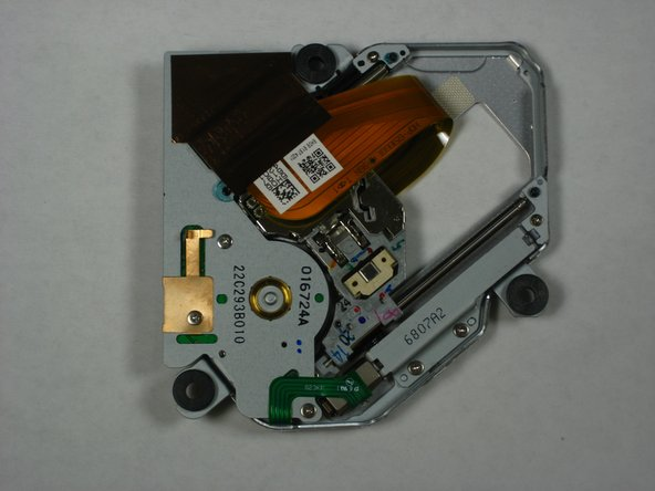 Lift and remove the optical drive assembly from the optical drive framework.
