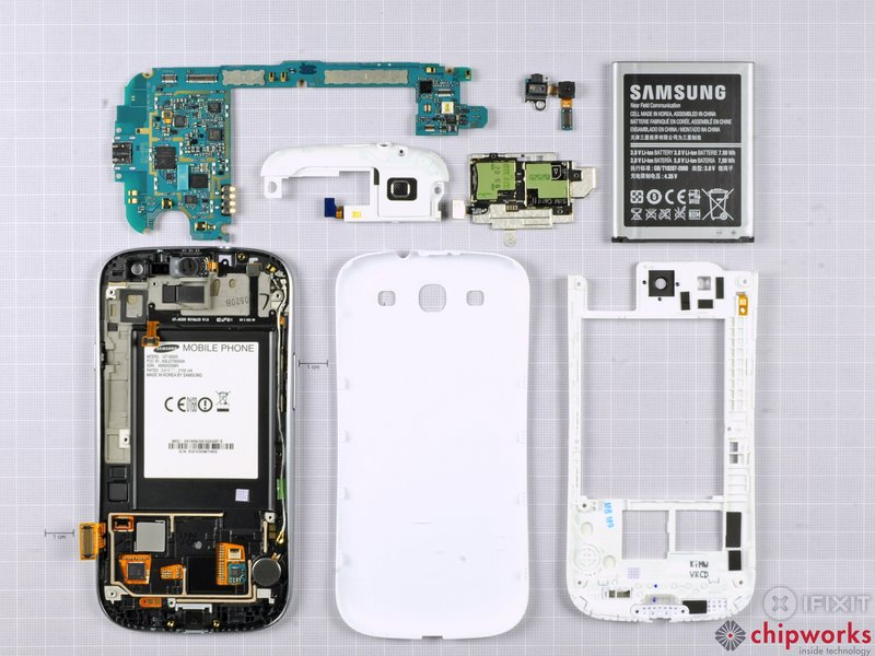 Samsung Galaxy SIII teardown