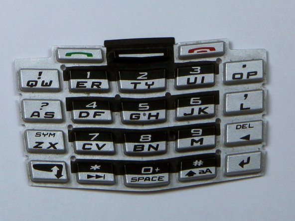 BlackBerry 7100g Keypad Cover Replacement