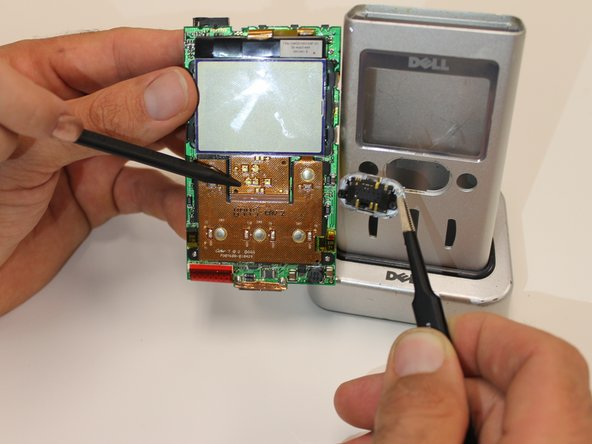 Image 3/3: Inspect contacts on the device. Also, inspect the device buttons (front and back) for damage. Damage may include broken or missing prongs that will interrupt the devices circuit.