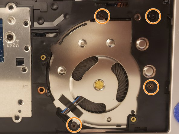 HP EliteBook 840 G5 Fan Replacement