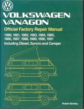 Bently VW Vanagon Manual 1980-1991